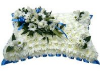 PILLOW FUNERAL FLOWERS...